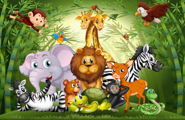 نام حیوانات به انگلیسی - آموزش به کودکان
