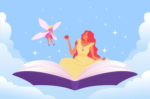 داستان انگلیسی بالشت پری برای کودکان + ترجمه